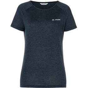 VAUDE Wo Yasim T-Shirt Col Ras-Du-Cou Femme, eclipse
